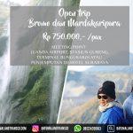 Open trip bromo madakaripura