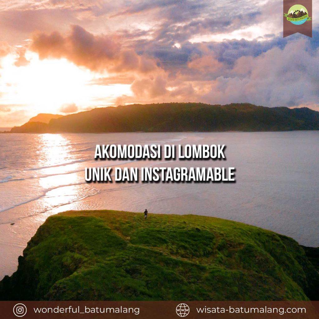 akomodasi di lombok